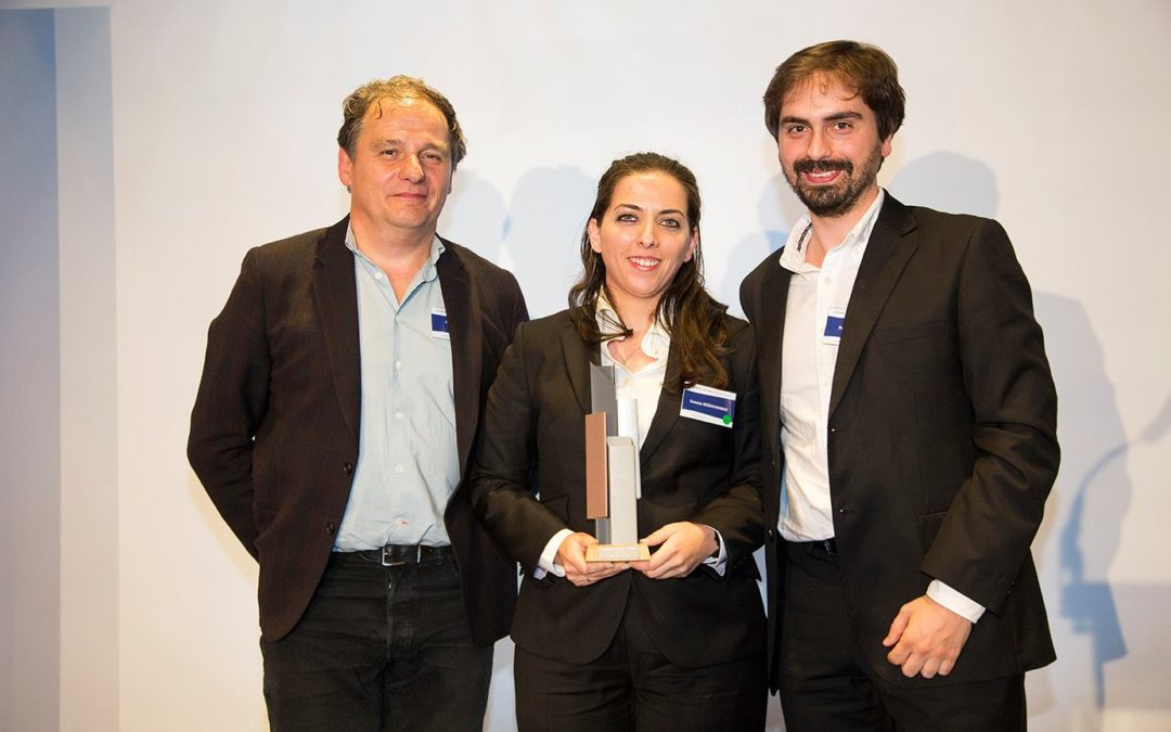 UPTEC's startup awarded by using zinc in architecture
